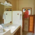 """Tropical Chic"" condo in Zihuatanejo's Madera Beach - One of two full bathrooms."