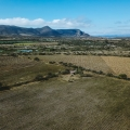 Idyllic Country Setting With Loads of Potential! - Aerial view of land and casita looking towards Mt. Aguilar.