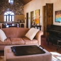 Rustic Luxury in Las Barrancas - Open concept living room, dining room and kitchen