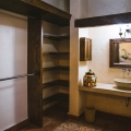 Lovely Home in the Magical Pozos Lavender Farms - Master bedroom closet and en suite bathroom