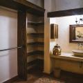 Rustic Luxury in Las Barrancas - Master bedroom closet and en suite bathroom
