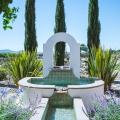 Rustic Luxury in Las Barrancas - Fountain in back garden