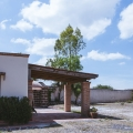 Jewel-Box Casita with Room to Expand - Back yard with gate